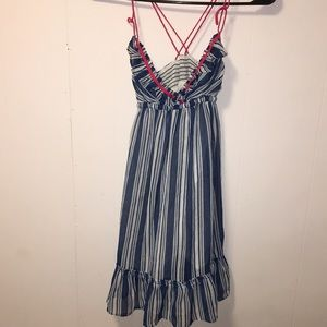 VINTAGE hollister sun dress size small